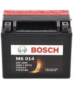 Акумулатор BOSCH M6 AGM YTX12-BS 10AH 150A 12V L+