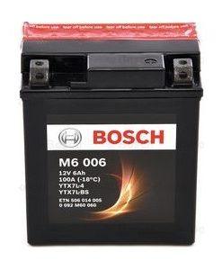 Акумулатор BOSCH M6 AGM YTX7L-BS 6AH 100A 12V R+
