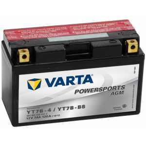 Акумулатор VARTA POWERSPORTS AGM YT7B-BS 7AH 120A 12V L+