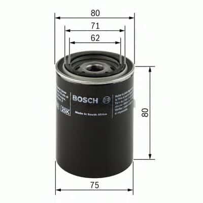Маслен филтър (0 451 103 271 - BOSCH)