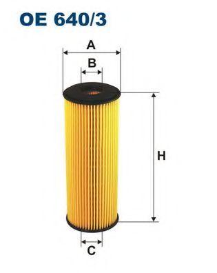 Маслен филтър (OE 640/3 - FILTRON)