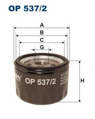 Маслен филтър (OP 537/2 - FILTRON)