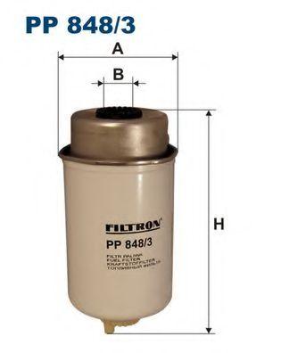 Горивен филтър (PP 848/3 - FILTRON)