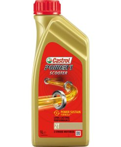 Масло CASTROL Power 1 Scooter 2T - 1 литър