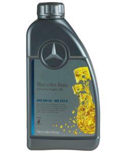 Оригинално масло A 000 989 92 02 11 MERCEDES 229.5 5w40 - 1 литър