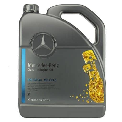 Оригинално масло MERCEDES 229.5 5w40 - 5 литра