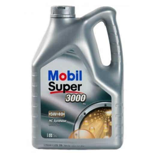 Масло MOBIL SUPER 3000 X1 5W40 5L