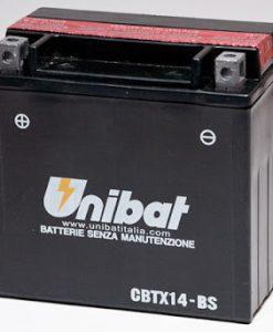 Акумулатор UNIBAT CBTX14-BS 12V/12AH