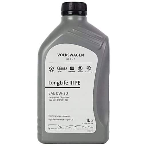 Оригинално масло VOLKSWAGEN LONG LIFE III FE 0W-30 1L