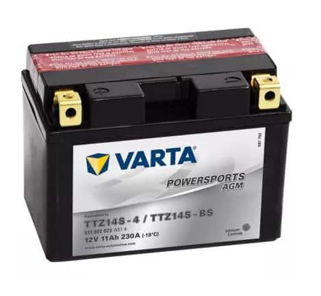 Акумулатор VARTA POWERSPORTS AGM TTZ14S-BS 11AH 230A 12V L+