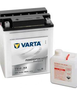 Акумулатор VARTA POWERSPORTS YB14-A2 14AH 190A 12V L+