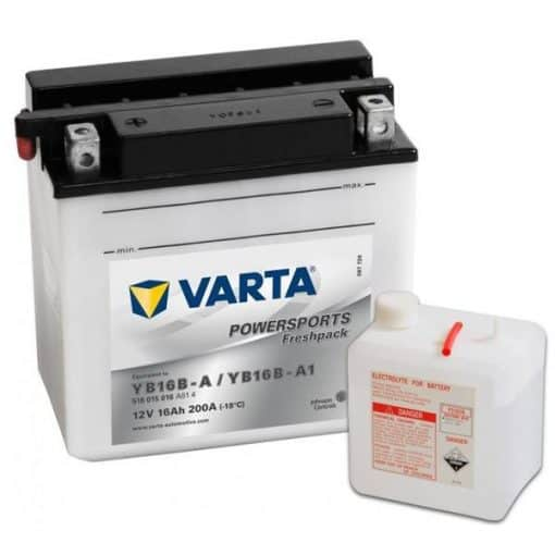 Акумулатор VARTA POWERSPORTS YB16B-A 16AH 200A 12V L+