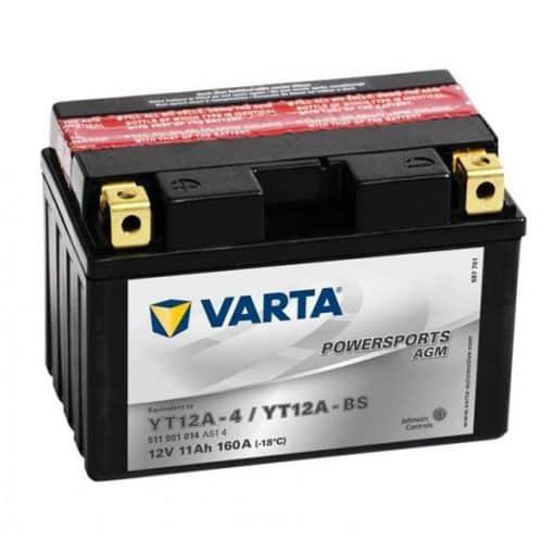Акумулатор VARTA POWERSPORTS AGM YT12A-BS 11AH 160A 12V L+