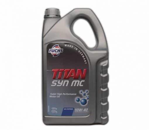 Масло FUCHS TITAN SYN MC 10W40 5L