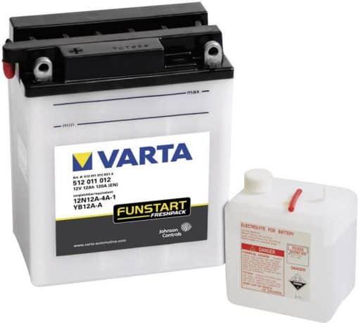 Акумулатор VARTA POWERSPORTS 12N12A-4A-1 12AH 160A 12V L+