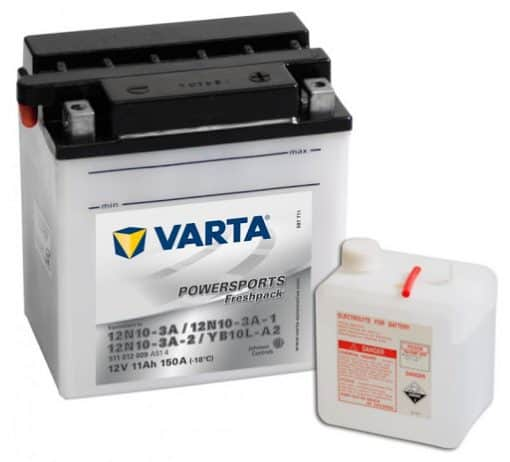 Акумулатор VARTA POWERSPORTS 12N10-3A 11AH 150A 12V L+