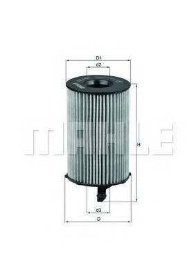 Маслен филтър (OX 420D - KNECHT)