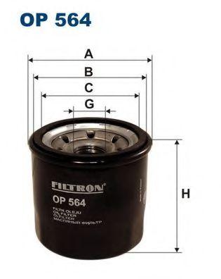 Маслен филтър (OP 564 - FILTRON)