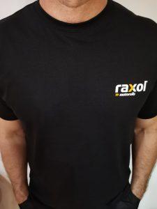 Мъжка тениска с надпис Raxol - L размер