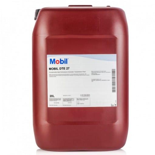 Хидравлично масло MOBIL DTE 27 - 20L