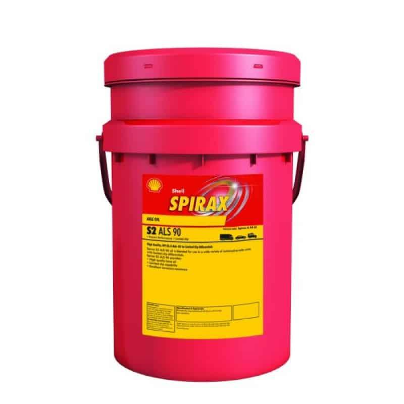 Трансмисионно масло Shell SPIRAX S2 ALS 90 - 20L