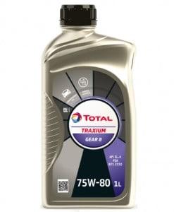 Трансмисионно масло Total Traxium GEAR 8 75W-80 - 1 литър