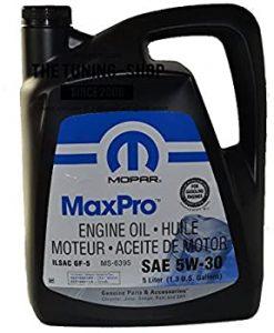 Масло Mopar MaxPro Chrysler 5W30 - 68218921AB - 5L