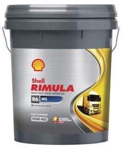 Масло Shell RIMULA R6 MS 10W40- 20 литра
