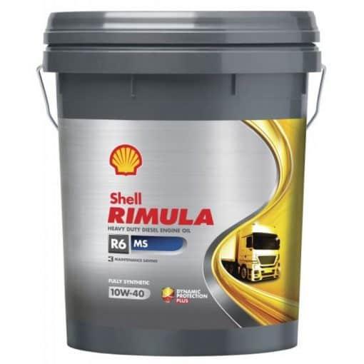 Масло Shell RIMULA R6 MS 10W40- 20 литра