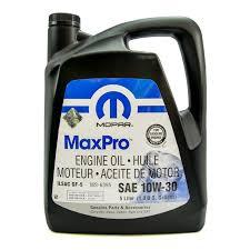 Масло Mopar MaxPro Chrysler 5W20 - 68218891AB - 5L