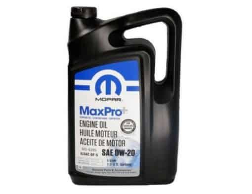 Масло Mopar MaxPro 0W20 - 68218951AB - 5L