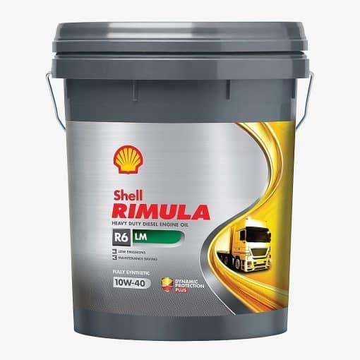 Масло Shell RIMULA R6 LM 10W40 - 20 литра