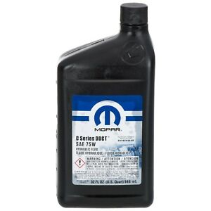 Масло Mopar MB236.12 AUTOMATIC TRANSMISSION FLUID 05127382AB -1L