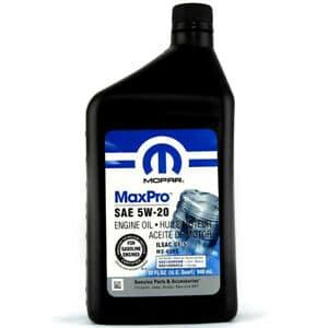 Масло Mopar MaxPro Chrysler 5W20 - 68218890AB - 1L