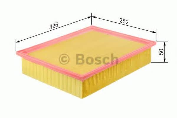 Въздушен филтър (1457433578 - BOSCH)