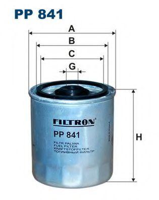 Горивен филтър (PP 841 - FILTRON)