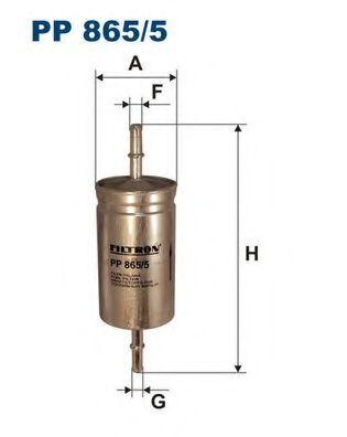 Горивен филтър (PP 865/5 - FILTRON)