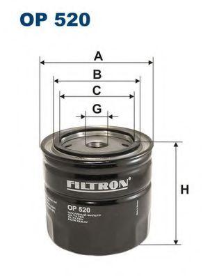 Маслен филтър (OP520 - FILTRON)