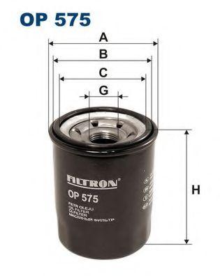 Маслен филтър (OP 575 - FILTRON)
