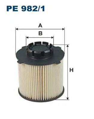 Горивен филтър (PE 982/1 - FILTRON)