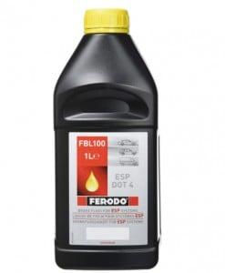 Спирачна течност FERODO FBL100 Brake Fluid ESP DOT 4 1 L