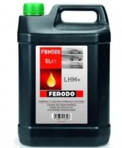 Хидравлична течност FBM500 / FERODO LHM+ 5L
