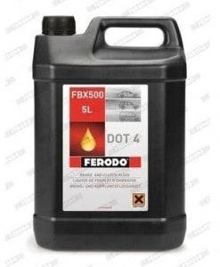 Спирачна течност FERODO FBX500 DOT 4 - 5L