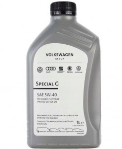 Оригинално масло VAG G S55 502 M2 SPECIAL G 5W40 1L