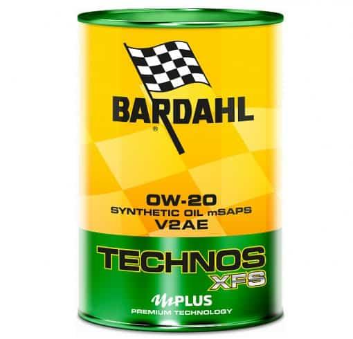 Масло BARDAHL TECHNOS XFS V2AE 0W20 - 1L