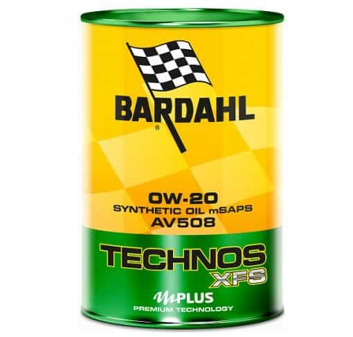 Масло BARDAHL TECHNOS XFS AV508 0W20 - 1L