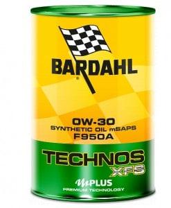 Масло BARDAHL TECHNOS XFS F950 0W30 1L
