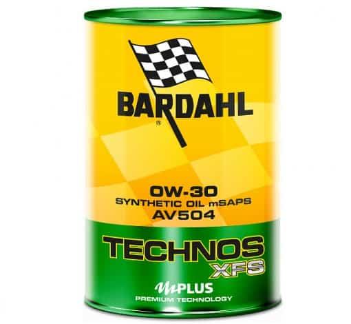 Масло BARDAHL TECHNOS XFS AV504 0W30 1L