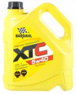 Масло BARDAHL XTC 5W40 4L