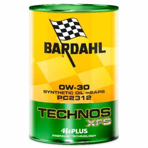 Масло BARDAHL TECHNOS XFS PC2312 0W30 1L